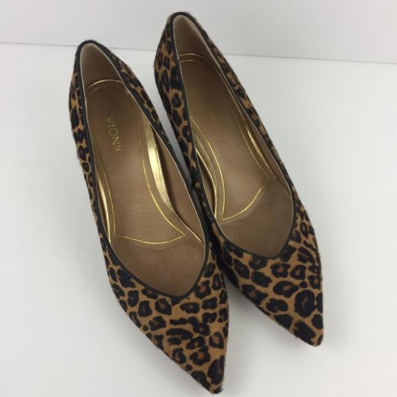 vionic josie kitten heel leopard